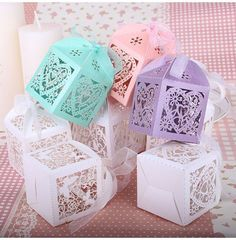New Products are in!  50pcs Wedding Favor Boxes! Check it out! www.salelab.ca