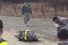 Soldier Collapses Right At The Finish Line Of Grueling Military Course – What Her Fellow Soldiers Do Is Incredible - Blooper News - The Best Funny News Bloopers 2016