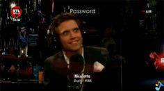 ANIMATED GIF Mika on RTL 102.5 June 2013