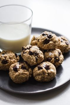 1-Bowl, Peanut Butter Oatmeal Chocolate Chip Cookies