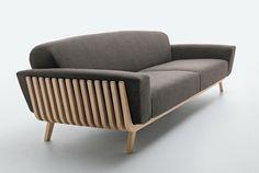 Beautiful sofa Hamper Sofa from the factory Passoni Nature