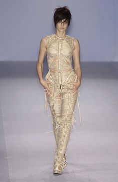 Jean Paul Gaultier at Paris Fashion Week Spring 2004 - Runway Photos Paul Gaultier Spring, Jean Paul Gaultier, Jeans Style, Paris Fashion, Runway, Formal Dresses, Natural, Photos, Dresses For Formal