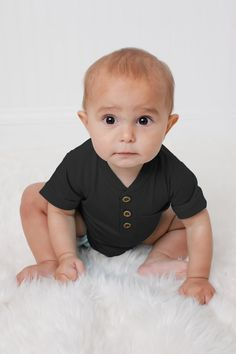 Images For Facebook Profile, White Camo, Man Up, Henley Shirts, Unique Outfits, Little Man, Grey Stripes, Toddler Boys, Boy Fashion