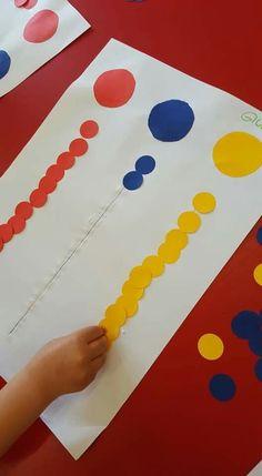 Fine Motor Activities For Kids, Activities For 2 Year Olds, Preschool Learning Activities, Color Activities, Preschool Worksheets, Toddler Activities, Preschool Activities, Kids Learning, Toddler Crafts