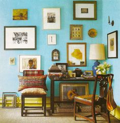 gorgeous warm turquoise - perfect with hints of ochre and gold