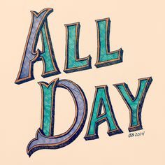 100 days of typography, day 96. I wish I could draw letters ALL DAY!  #typography #art #design #lettering #illustration