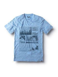 Gone Away Slim Fit V-Neck T-Shirt