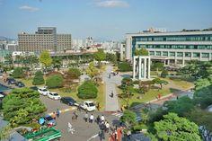 동국대 광장