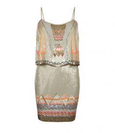 Lovely Art Deco Dress via AllSaints. So pretty!!