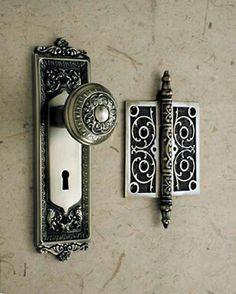 Antique door hindge Home Security Pinterest Antique