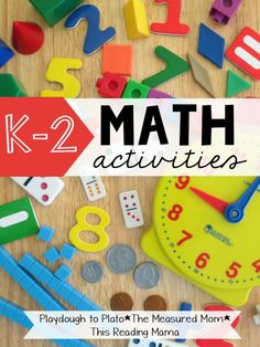 Loads of K-2 Math Activities! Fun ways to teach number sense, addition and subtraction, graphing... lots of things! And all of the activities are perfect for kindergarten, first grade and second grade.