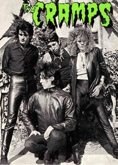 The Cramps - saw them at Hammersmith Palais in '86 - wow, what a mind bend!