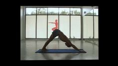 Combo sequence for warrior II and some triangles + sideplank. A nice workout, just a few minutes. Builds strength in legs and core, exercises the spine, and a fun…