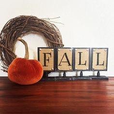 Just added another Fall/Home Duo Sign to the store. Only 1 available 🍁🎃