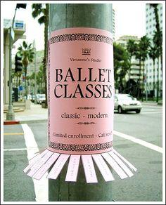 guerilla marketing ads ballet classes - The Danish Designer Guerilla Marketing, Street Marketing, Marketing Guru, Experiential Marketing, Business Marketing, Digital Marketing, Creative Advertising, Guerrilla Advertising, Advertising Design