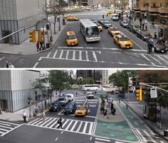 From pavement to plazas...