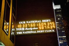 The U.S. debt clock tracks the national debt, which hit $18 trillion on 12/15/14. Find out its history, where it is, and other ways to track debt.
