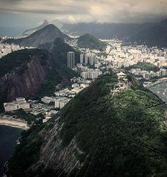 View from Sugar Loaf Mountain.. Rio de Janeiro, Brazil.