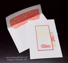 Another Thank You, Regarding Dalia, Stampin' Up!, Brian King