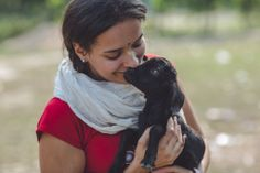 Me and the cutest goat ever India Travel Photography by Lotus Eyes Photography www.lotuseyesphotography.com