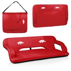 Arkansas Razorbacks Tailgating Couch - Reflex by Picnic Time – Cooler Time