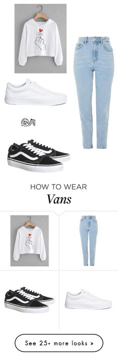 """for brianna"" by unicorntori1 on Polyvore featuring Topshop and Vans"