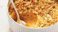Sage adds a savory note to sweet-potato casserole. Best of all: It can be made two days before the meal.