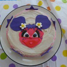 Sesame street 1st Birthday Party! Abby cadabby cake
