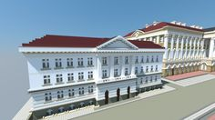 The Kazimierzowski Palace; Warsaw University [Aliquam] Minecraft Project
