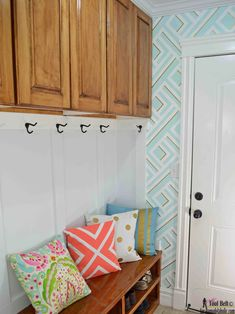 Build your own custom raised panel cabinet doors for your home or projects, great tutorial to show you how and what you need! New Kitchen Designs, Paneling, Furniture Diy, Room Layout, Home, Raised Panel Cabinet Doors, Cabinet, Home Decor, Raised Panel Cabinets