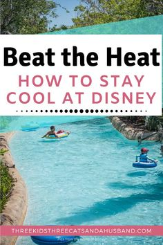 Walt Disney World vacation planning tips, tricks, and secrets for families -- How to beat the heat and stay cool at the Disney parks, in the summer months or any time! Photos is of Disney water park Typhoon Lagoon Disney On A Budget, Disney World Vacation Planning, Walt Disney World Vacations, Disney Trips, Trip Planning, Disney World Secrets, Disney World Outfits, Disney World Parks, Disney Water Parks