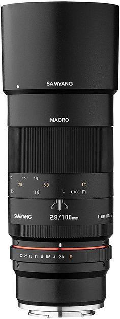 Samyang Objektiv Marko DSLR Sony E manueller Fokus Fotoobjektiv, Makroobjektiv schwarz Sony, Camera Lens, Super, Music Instruments, Wide Angle Lens, Reflex Camera, Musical Instruments