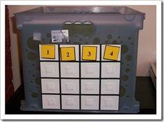 Workboxes for the older kids