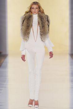 Alexandre Vauthier Haute Couture A/W 12/13  Overdose of white and gold... so good    Overdose of white and gold... so good