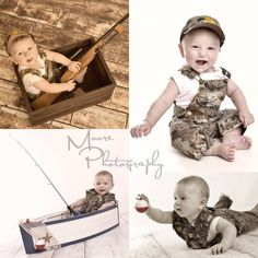 Country boy photos, child fishing hunting photos, cammo photos