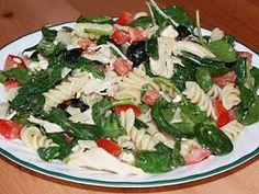 Vittles Divine: Spinach Pasta Salad