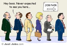 """""""Hey, boss. Never expected to see you here..."""" From JustJobs: http://academy.justjobs.com/caption-contest-14/"""