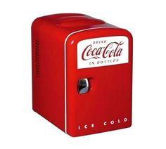 Mini Refrigerador Portátil - Drink Coca Cola