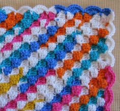 Hooked on Needles: Crocheted Candy Stripes Blanket ~ Finished!