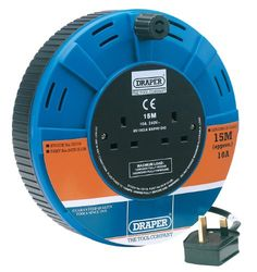 Draper 72719 15 m Twin Cable Reel has been published to http://www.discounted-tv-video-accessories.co.uk/draper-72719-15-m-twin-cable-reel/