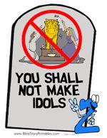 Printable Ten Commandment Bulletin Board