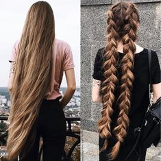 """827 Likes, 8 Comments - Girls With Beautiful Hair❤️ (@girls.with.beautiful.hair) on Instagram: """"Loose hair❤️or two braidsThank you to @lyuba_tyshchenko the beautiful for the picture,you have…"""""""