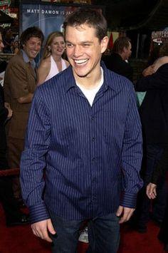 Matt Damon ... that smile!