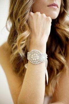 Beaded wedding bridal bracelet with ribbon closure. Beaded part is x With love, Tatishotties. Bridal Bracelet, Bridal Earrings, Bridal Jewelry, Wedding Bracelets, Wedding Rings, Crystal Bracelets, Crystal Beads, Cuff Bracelets, Rustic Wedding Jewelry