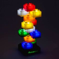 Light Stax are a fun and addictive construction system! Perfect for any child who enjoys #sensory lights #SEN #PGCE #NQT #teacher