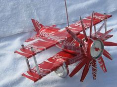 Coca-Cola airplane for my kitchen :-)