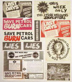 Jamie Reid • Suburban Press Sticker Collage (1975)