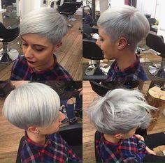 Mit kurz geschnittenen Haaren hat man so viele Stylingvariationen! Wir zeigen Dir schöne Inspirationen. - Frisuren Trend