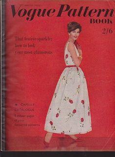 Vogue Pattern Book, Winter 1960-61 featuring Vogue 5124