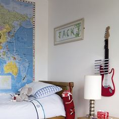 Where do I get a map THAT big? Love this for pinning where you've been or where you'd LIKE to go...